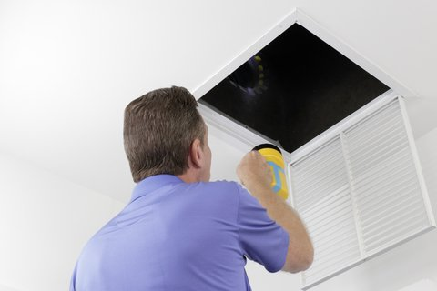 Breathe easier with air duct cleaning.