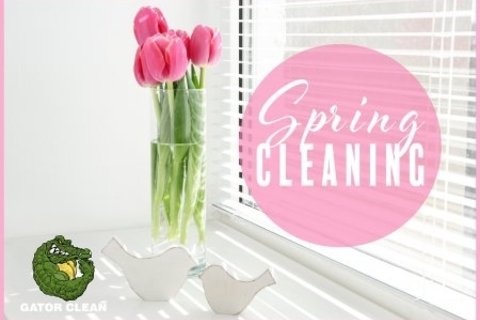 Easy breezy spring cleaning tips.