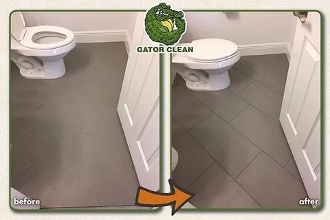 Tile & Grout Color Sealing