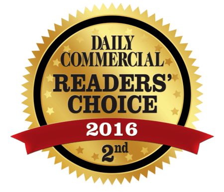 Daily Commercial Reader's Choice 2016 Runner-Up