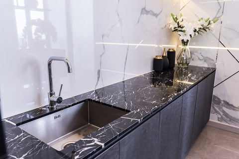 Stone Countertop & Floor Cleaning