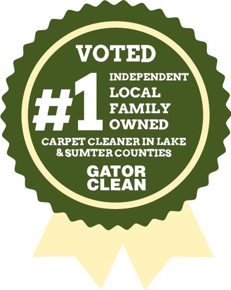 Voted #1 Independent Carpet Cleaner in Lake and Sumter Counties